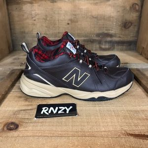 New Balance 608 Flannel Lined Leather Sample